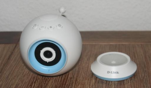 D-Link DCS-825L-Babyphone mit Kamera