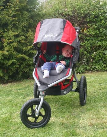 Outdoor Kinderwagen im Einsatz