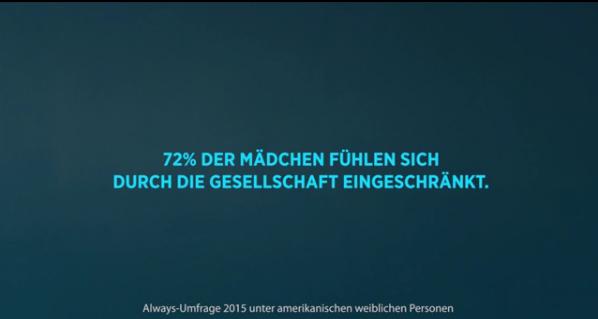 Always #Wie ein Mädchen (Sponsored Video)